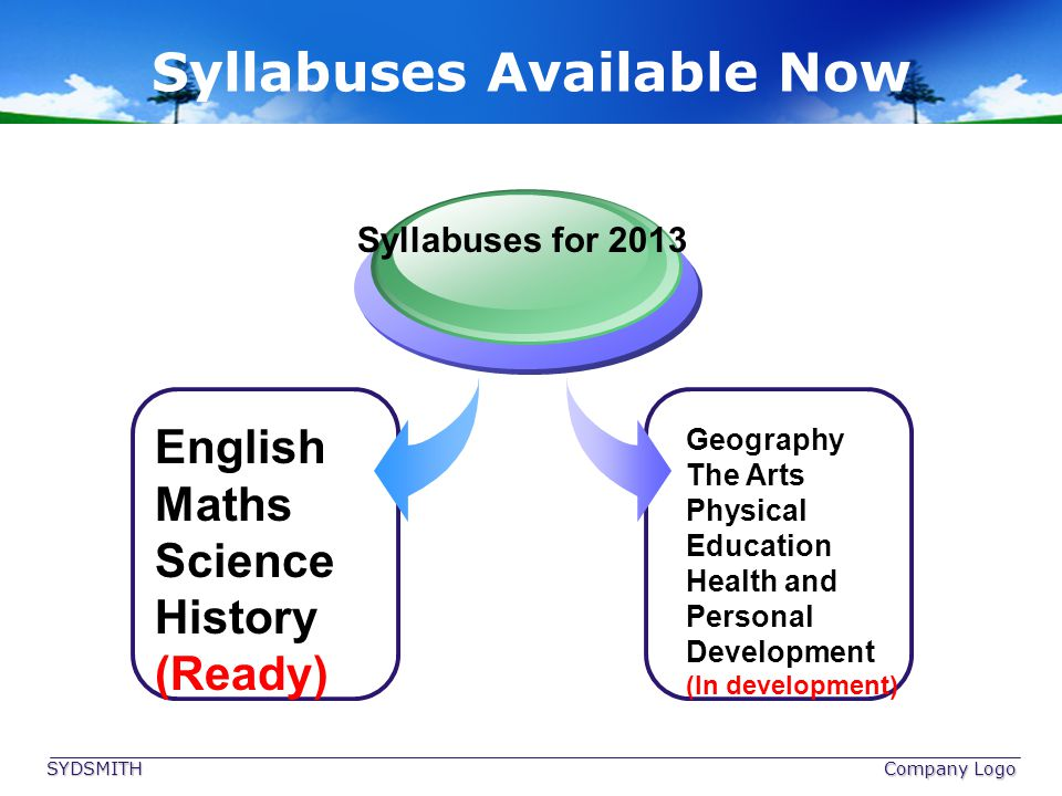 Syllabuses Available Now