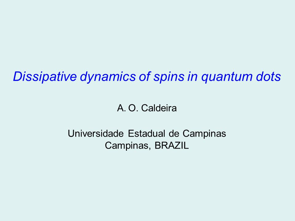 Dissipative dynamics of spins in quantum dots