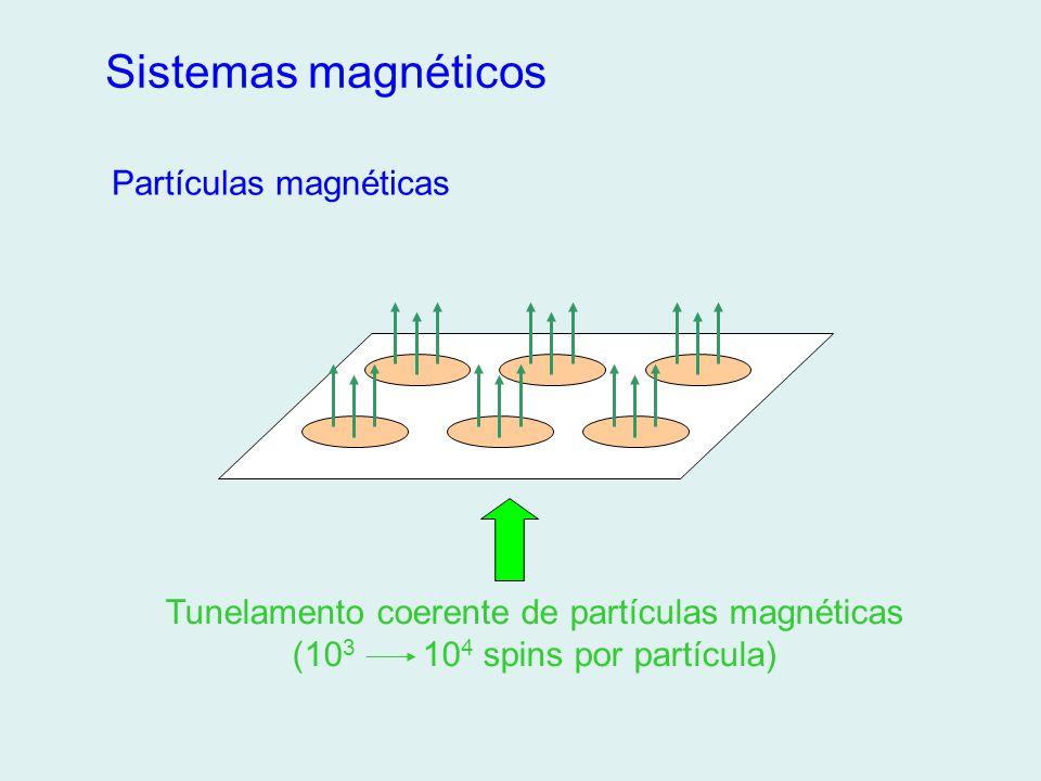 Tunelamento coerente de partículas magnéticas