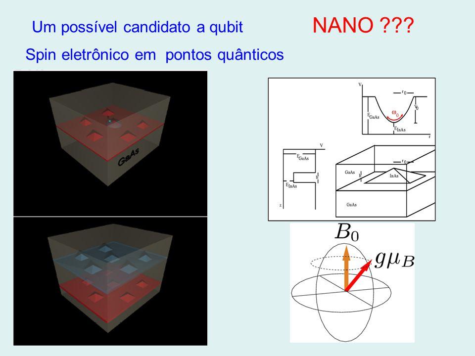 NANO Um possível candidato a qubit