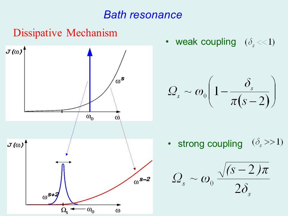 Dissipative Mechanism