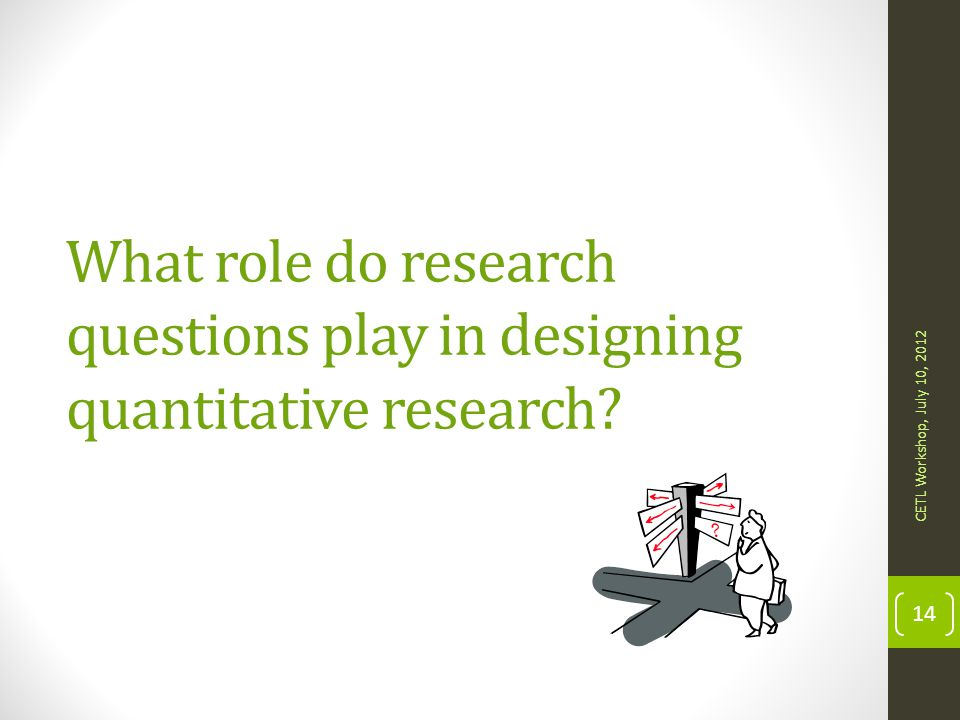 What role do research questions play in designing quantitative research