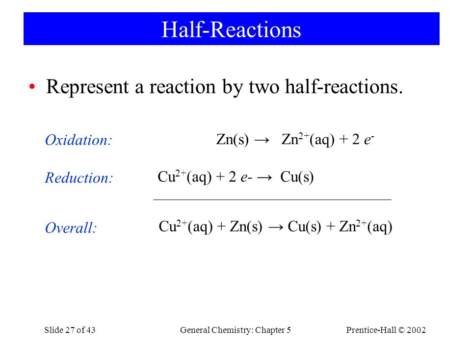 General Chemistry: Chapter 5