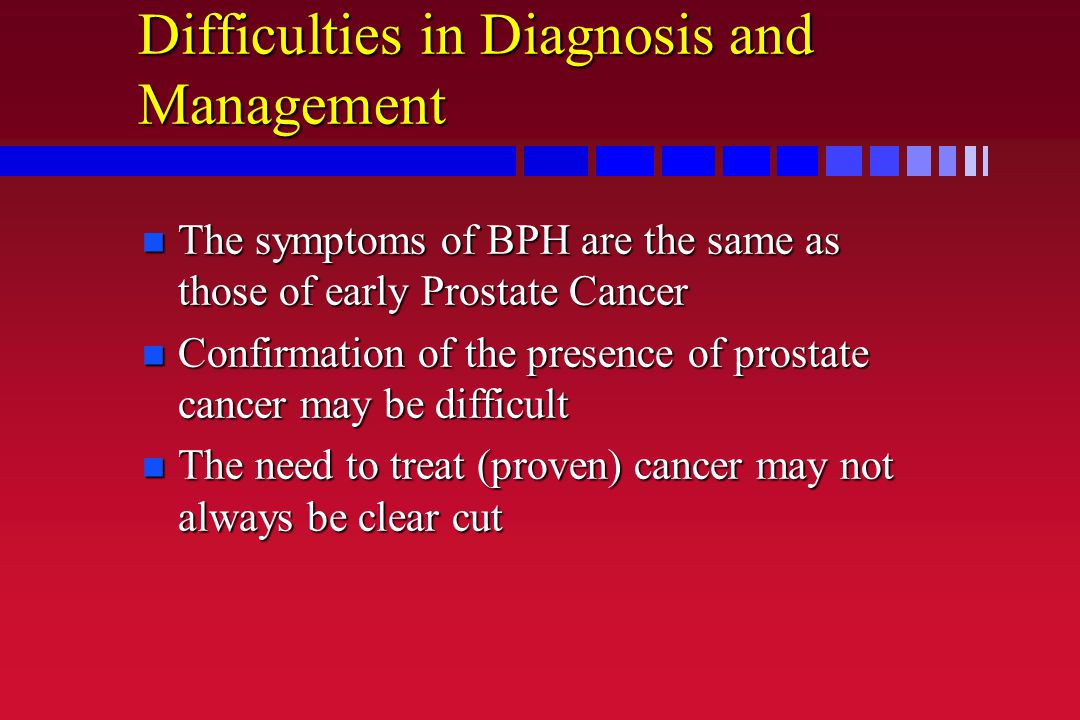 Difficulties in Diagnosis and Management