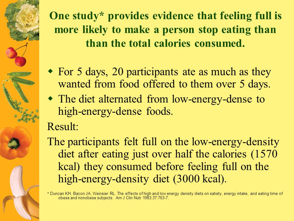 The diet alternated from low-energy-dense to high-energy-dense foods.