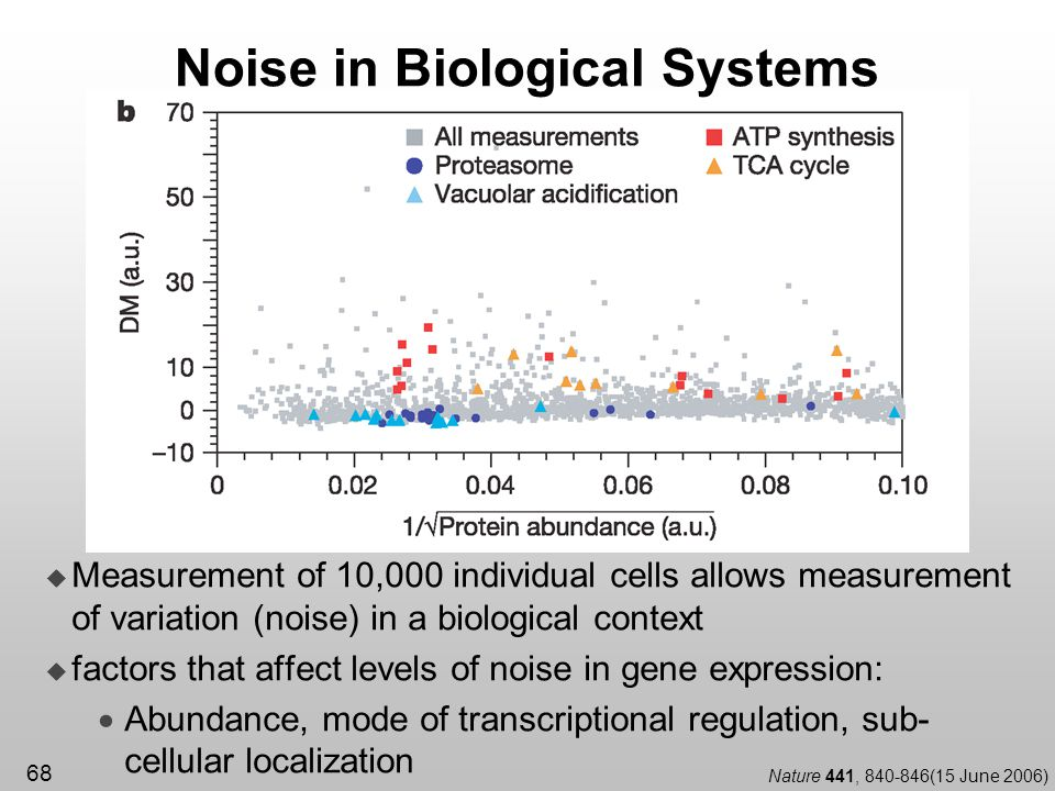 Noise in Biological Systems