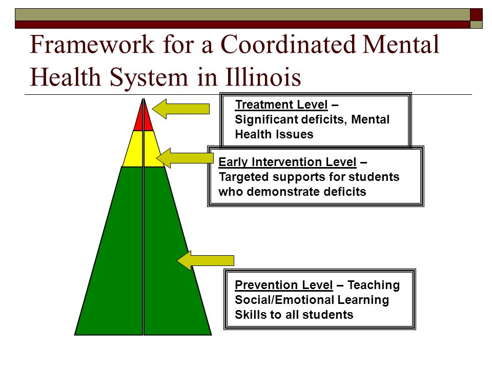 Framework for a Coordinated Mental Health System in Illinois