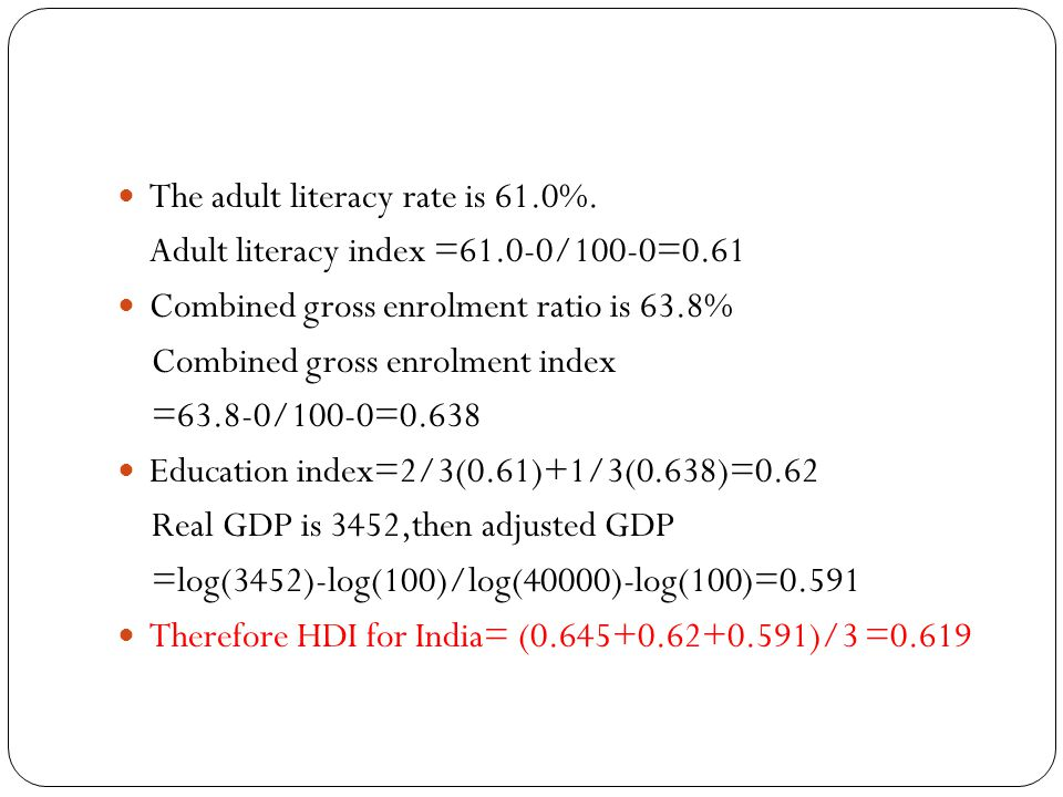 The adult literacy rate is 61.0%.
