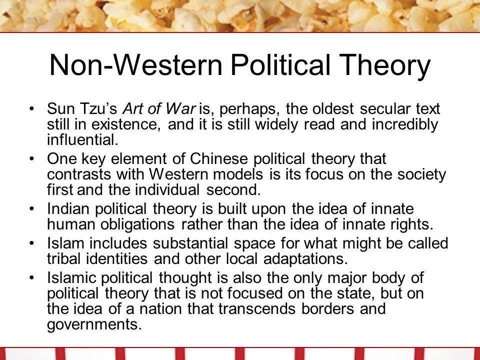 Non-Western Political Theory