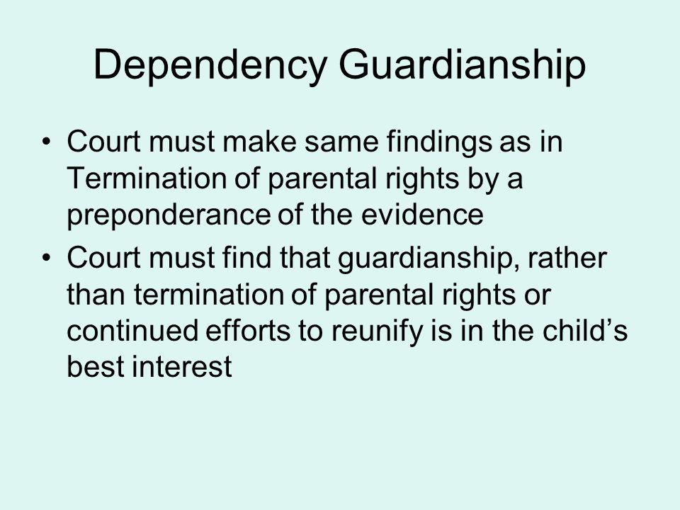 Dependency Guardianship