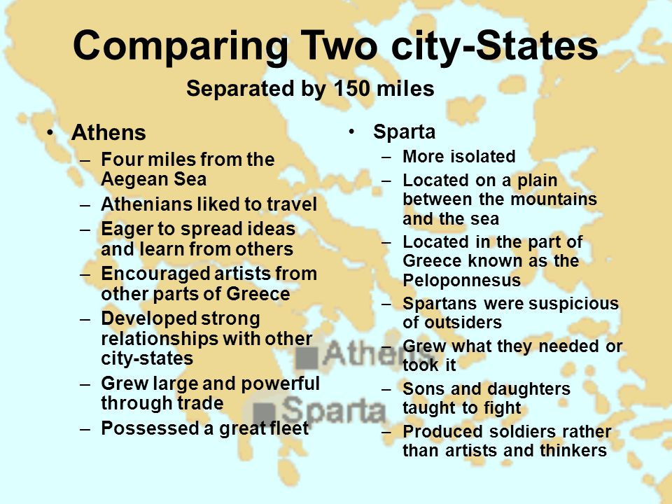 compare a couple cities
