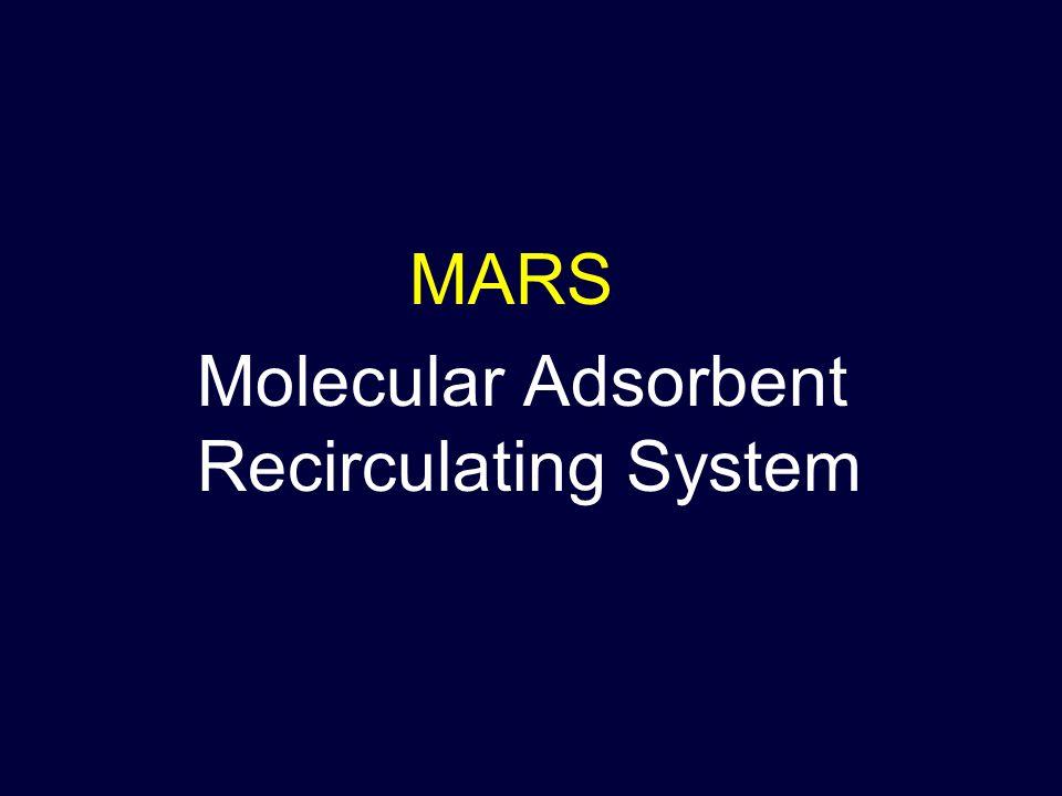 Molecular Adsorbent Recirculating System