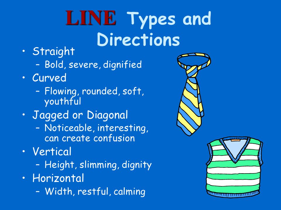 LINE Types and Directions