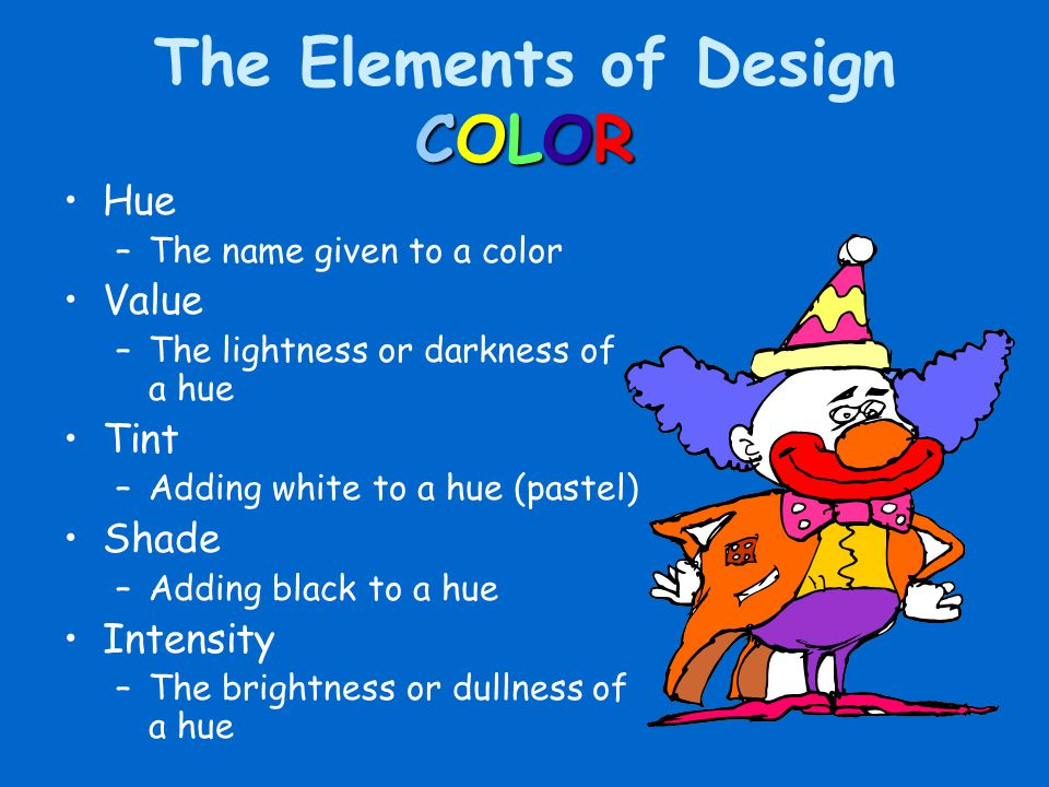 The Elements of Design COLOR