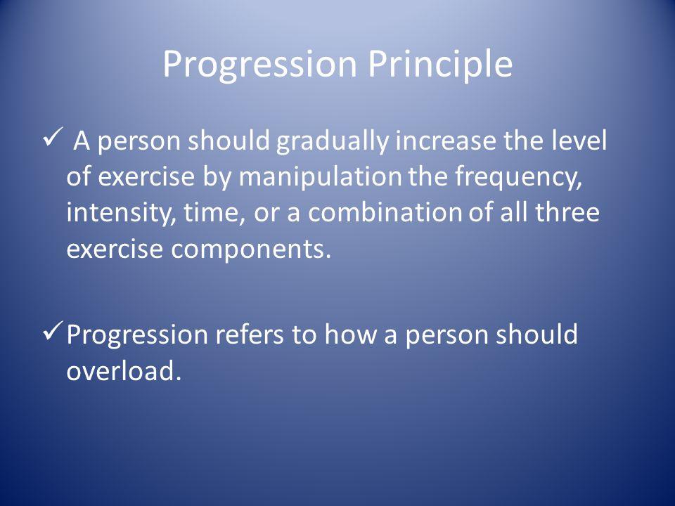 Progression Principle