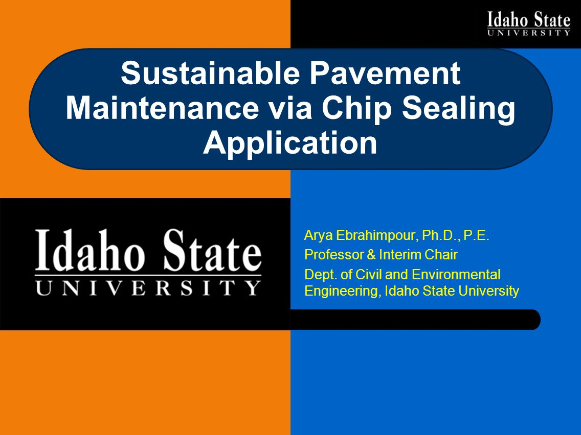 Sustainable Pavement Maintenance via Chip Sealing Application