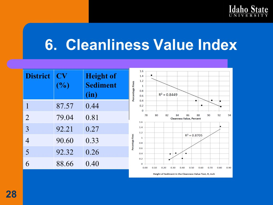 6. Cleanliness Value Index