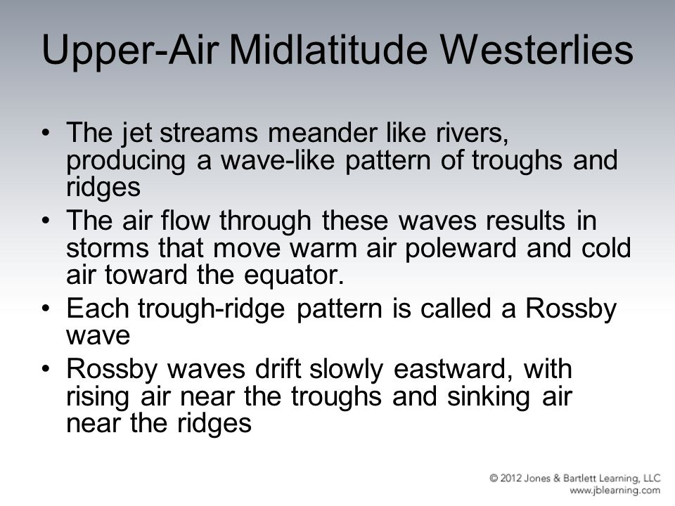 Upper-Air Midlatitude Westerlies