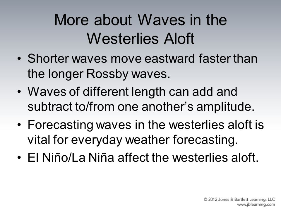 More about Waves in the Westerlies Aloft