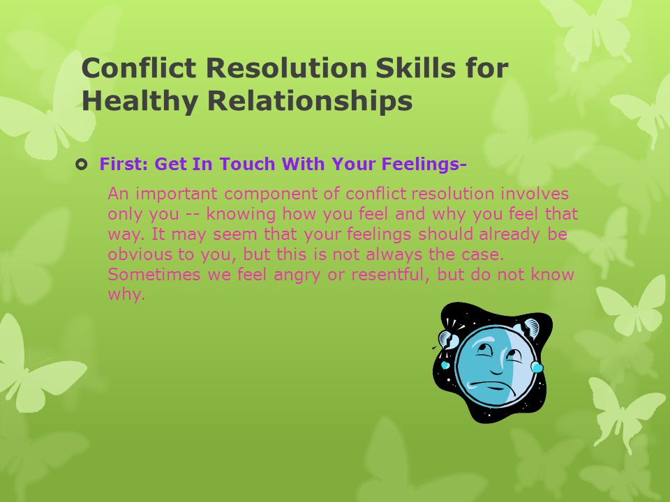 Conflict Resolution Skills for Healthy Relationships