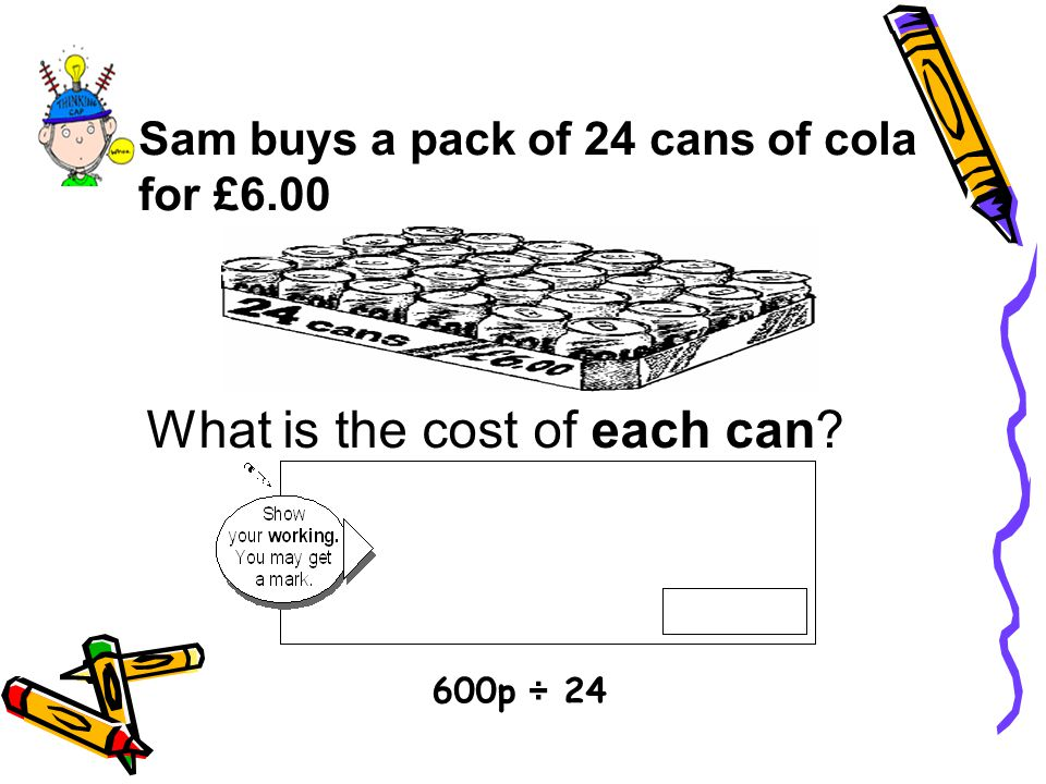 What is the cost of each can