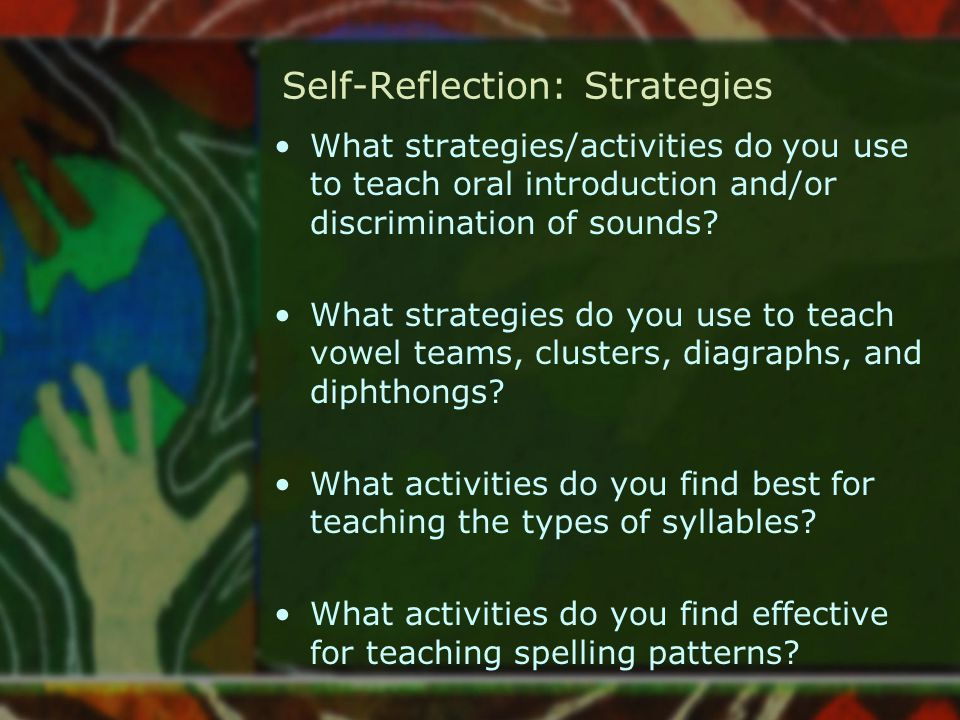 Self-Reflection: Strategies