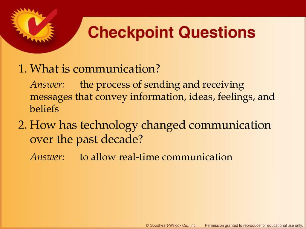 Understanding the Communication Process - ppt download