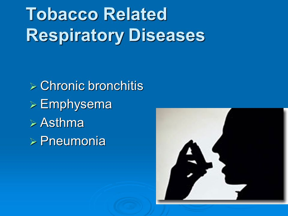 Tobacco Related Respiratory Diseases