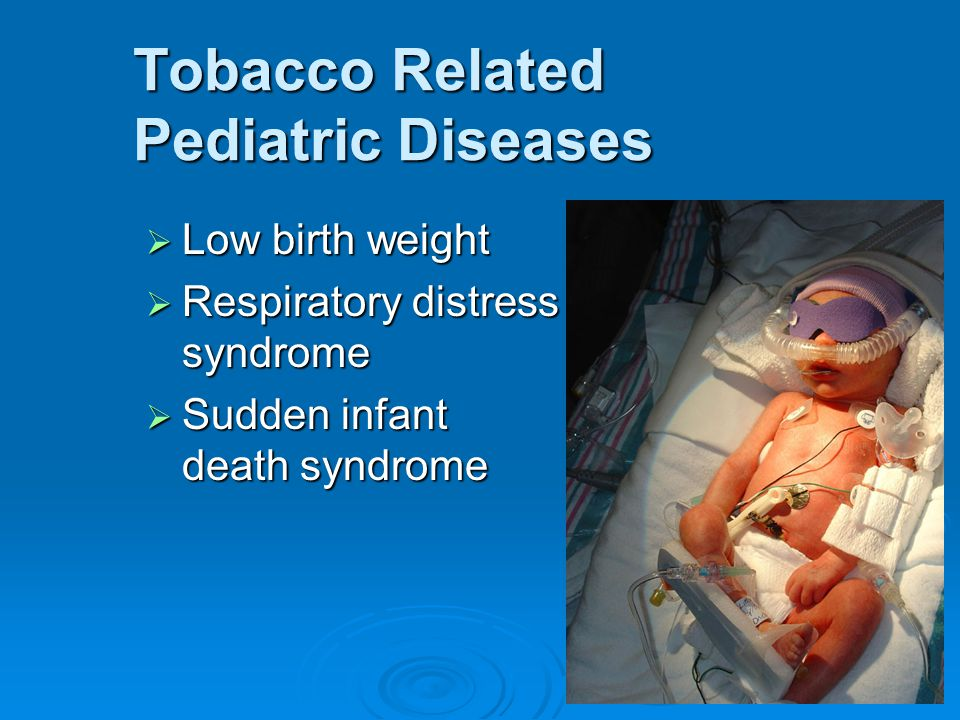 Tobacco Related Pediatric Diseases