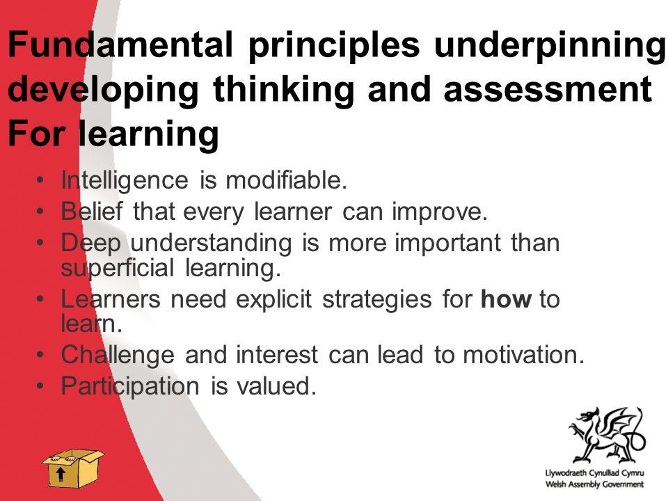 Fundamental principles underpinning