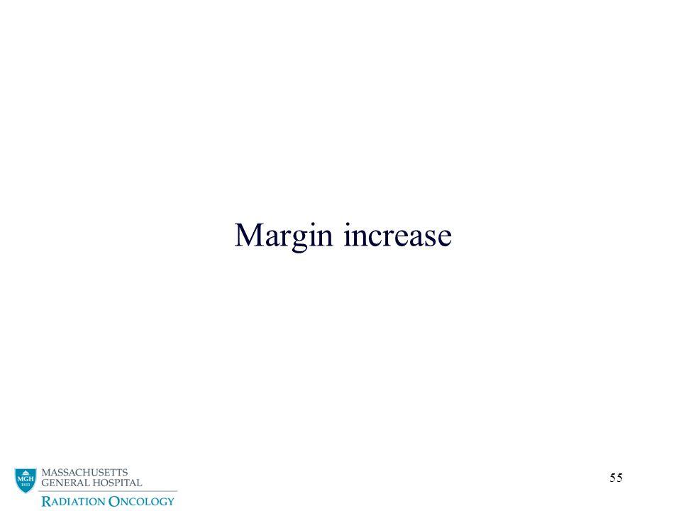 Margin increase
