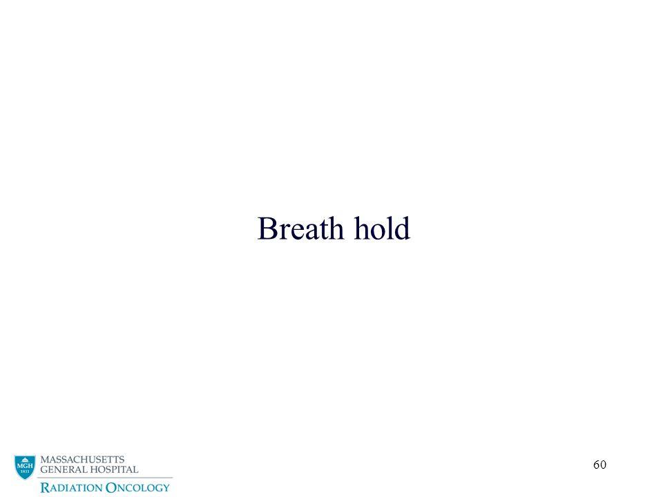 Breath hold