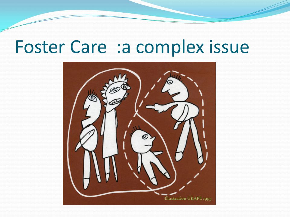 Foster Care :a complex issue