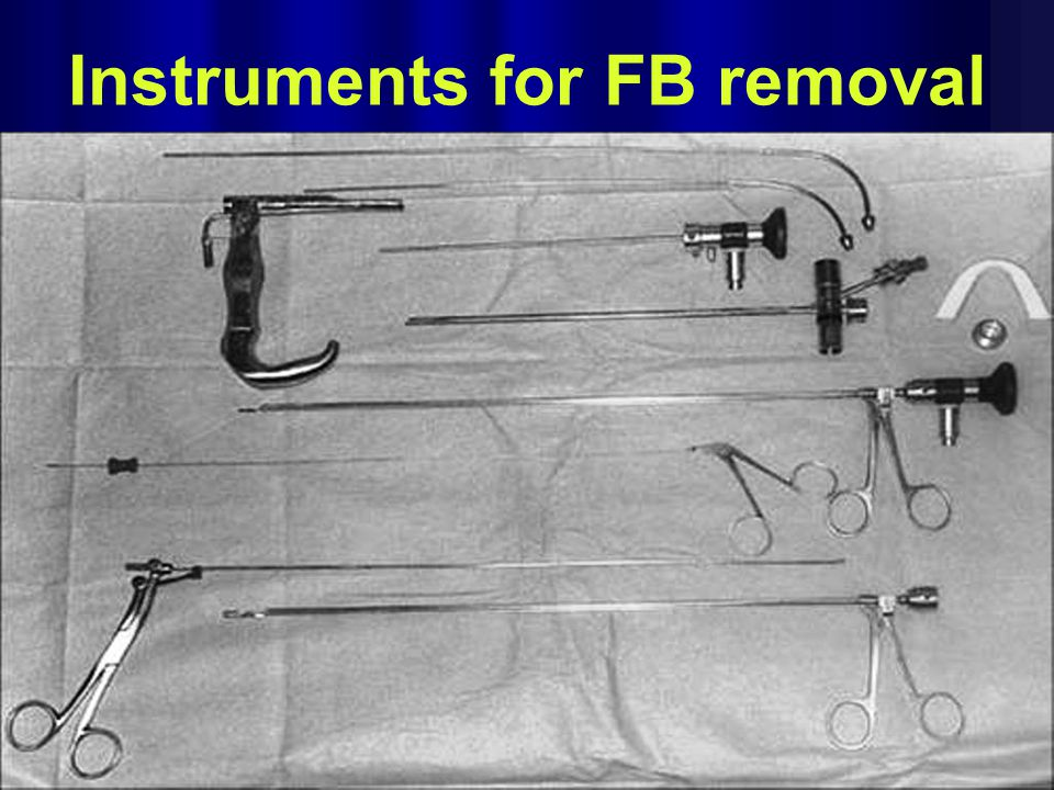 Instruments for FB removal