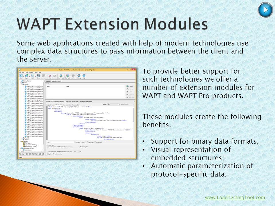 WAPT Extension Modules