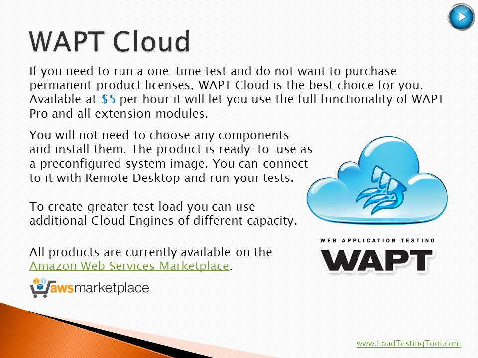WAPT Cloud