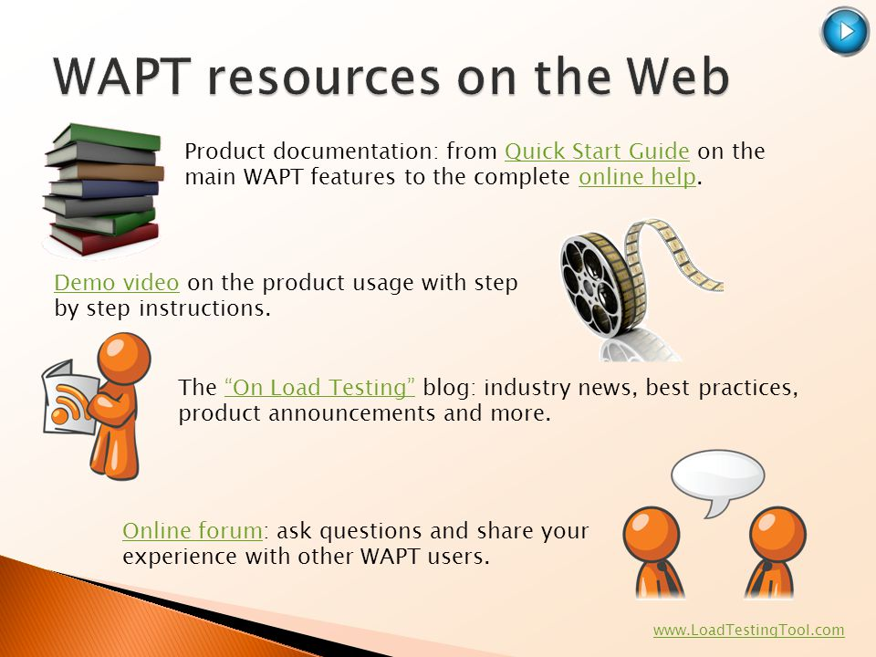 WAPT resources on the Web