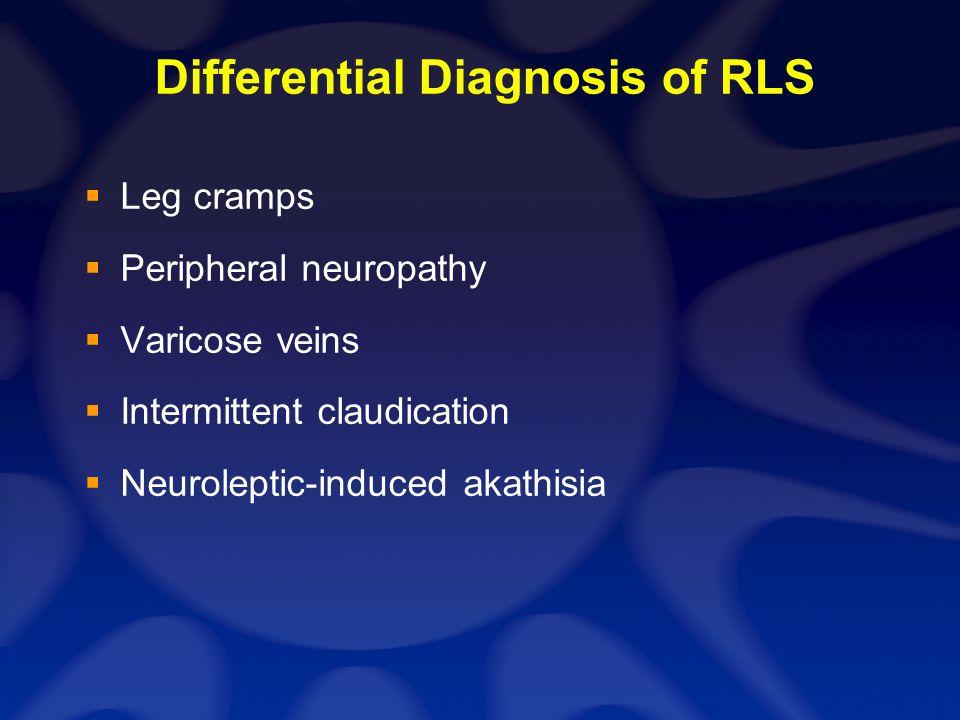 Symptomatic Restless Legs