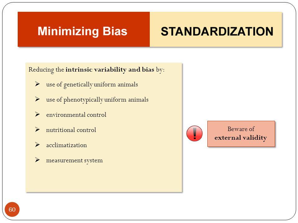 Beware of external validity