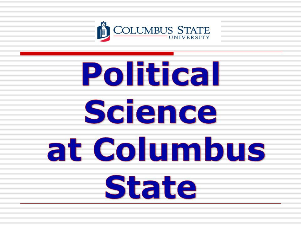 Political Science at Columbus State