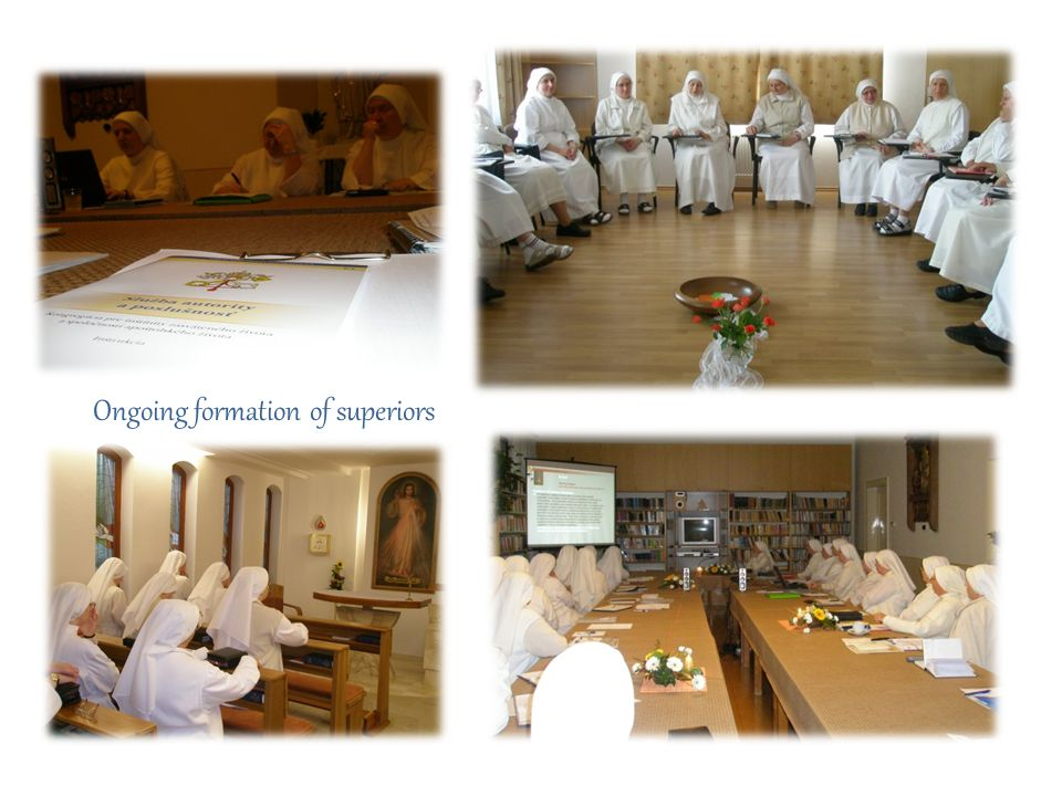 Ongoing formation of superiors