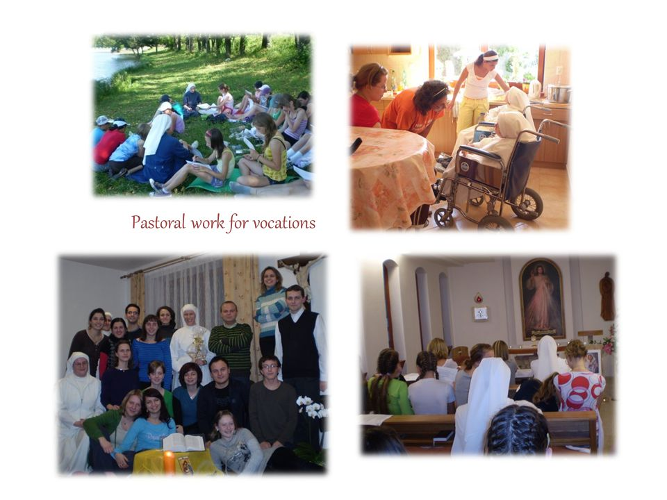 Pastoral work for vocations