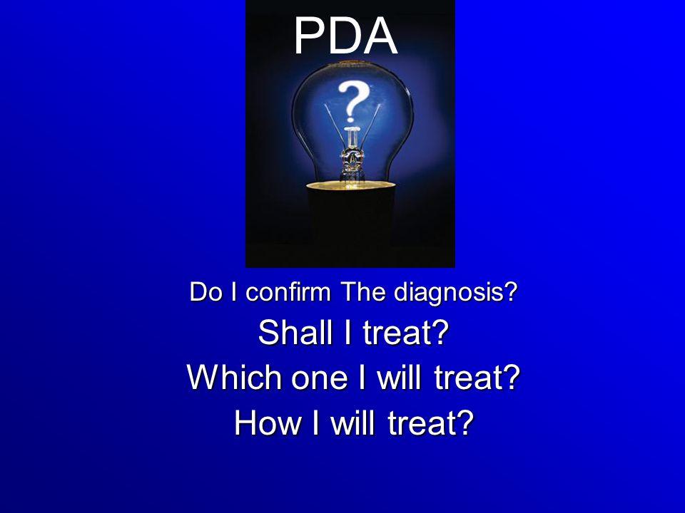 Do I confirm The diagnosis