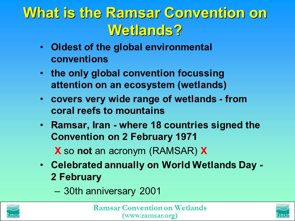 What is the Ramsar Convention on Wetlands