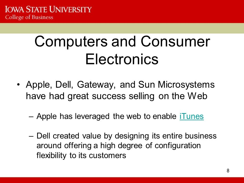 Computers and Consumer Electronics