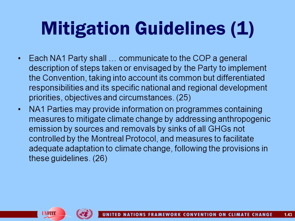 Mitigation Guidelines (1)