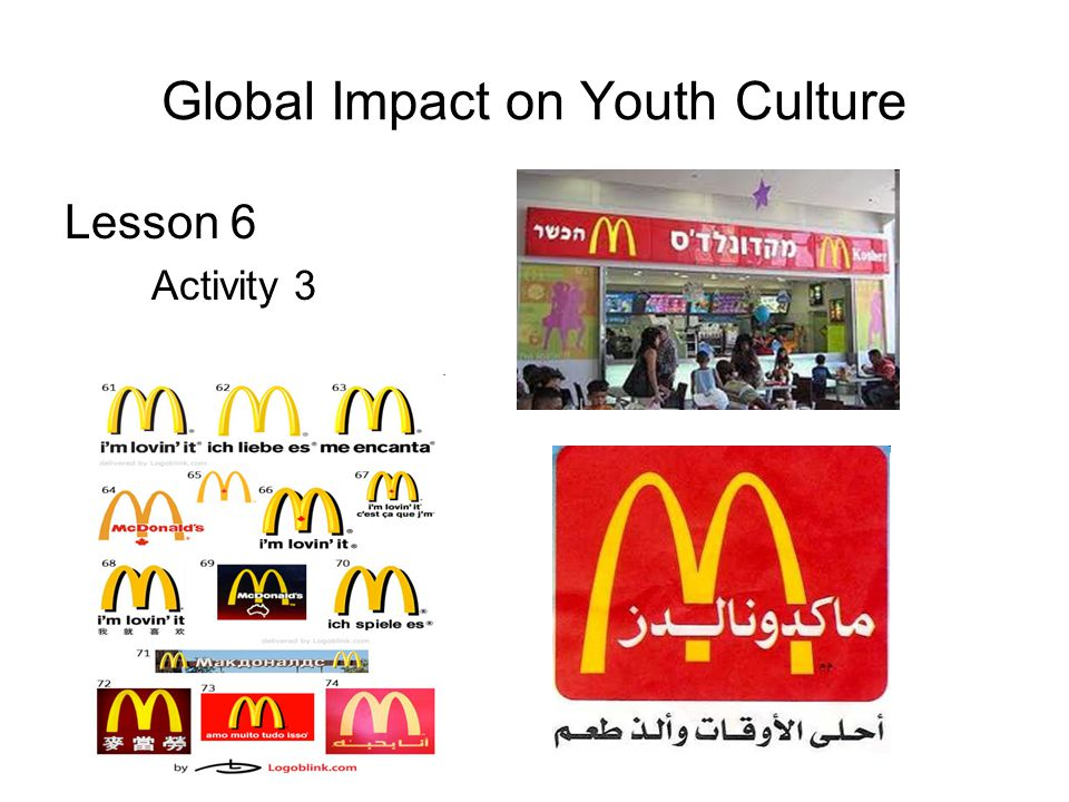 Global Impact on Youth Culture