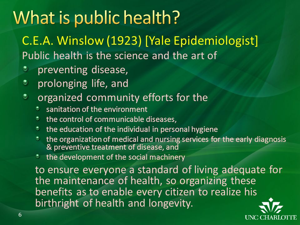 Reflections of 20 years of Public Health at AUA: Parallels Between ...