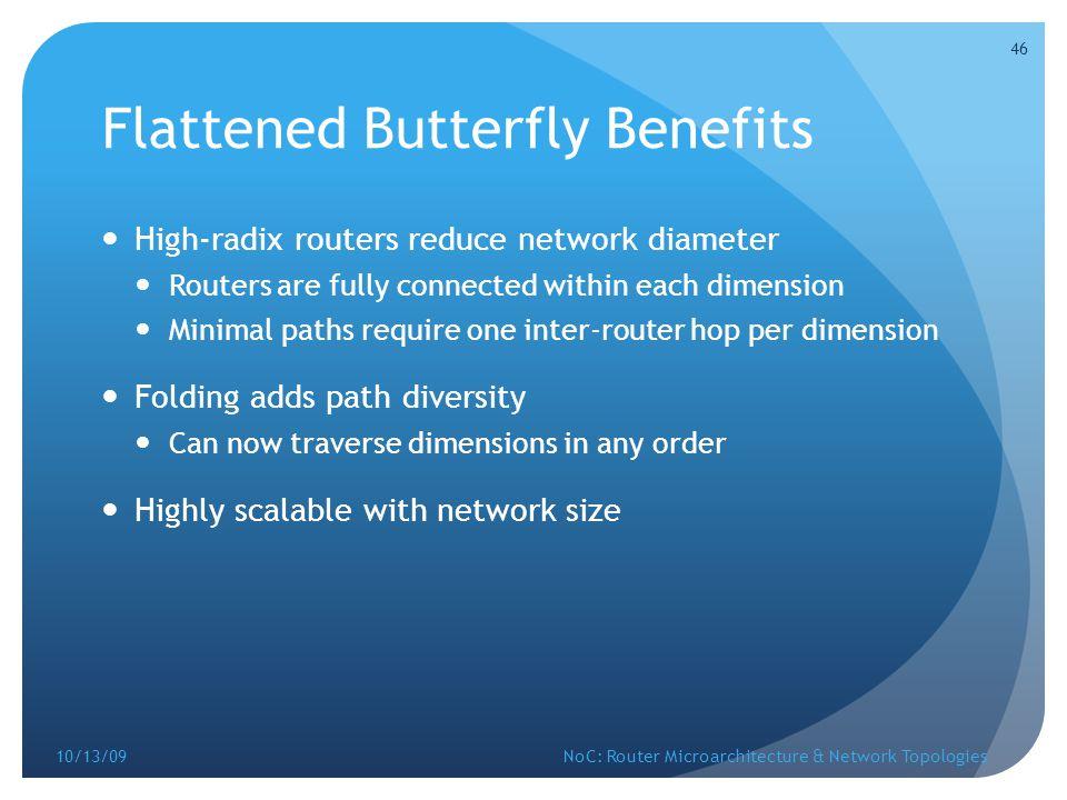 Flattened Butterfly Benefits