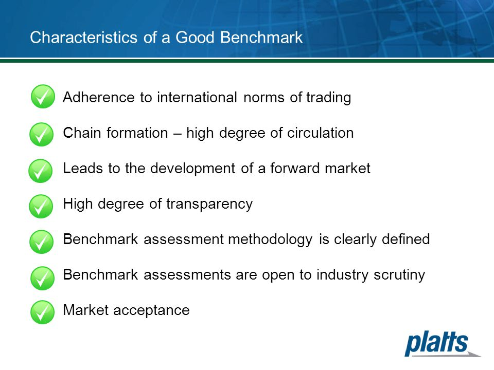 Characteristics of a Good Benchmark